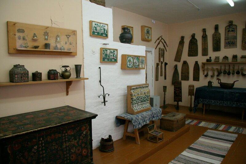 Абрамцево, Кухня, Коллекция произведений русского народного искусства