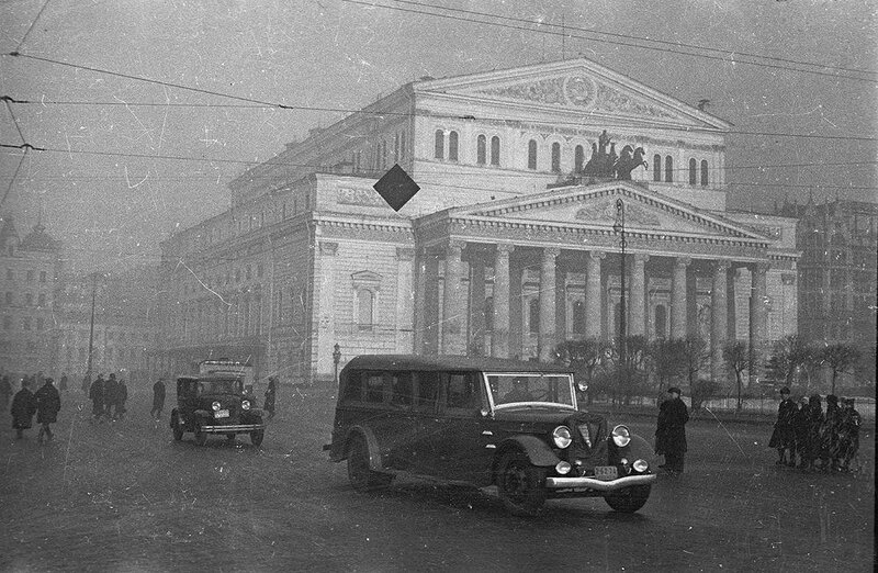Большой театр, 1934.