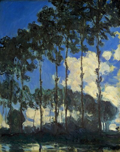 1891 Poplars on the Banks of the Epte