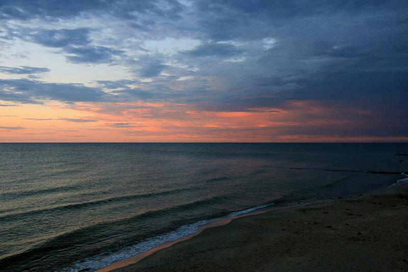 Зеленоградск, Балтийское море