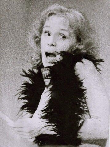"""Лилия Толмачева, актриса театра """"Современник"""". Фотография середины 1970-х ."""