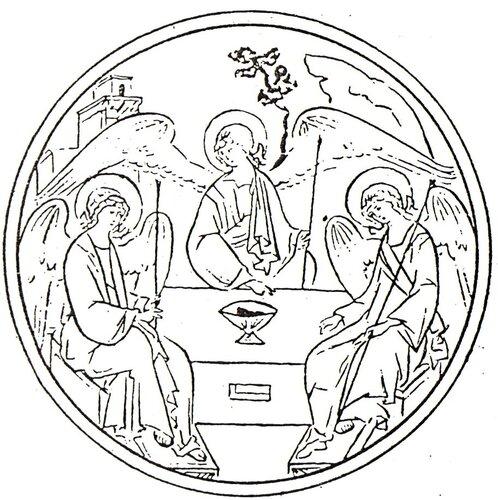 Рисуем икону по дереву