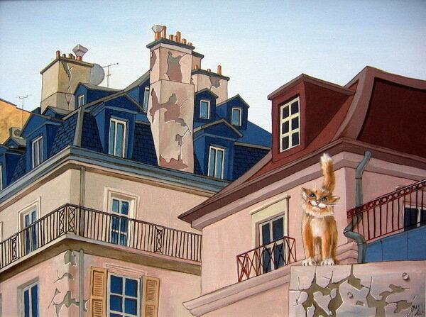 Кот с бульвара Сен-Жермен