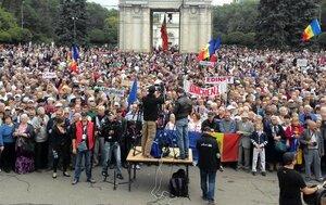 В Молдове спадает волна акции протестов