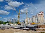 Стройка в Солнцево на улице Главмосстроя