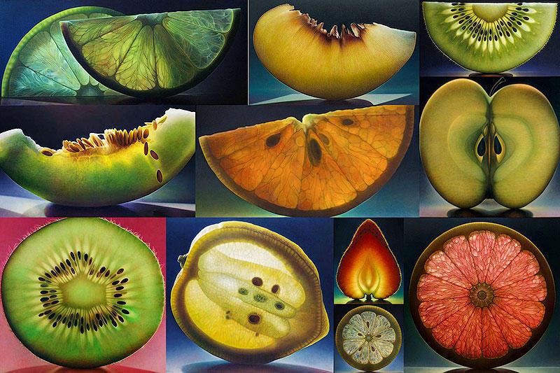 Прозрачные фрукты Денниса Войткевича (12 фото)