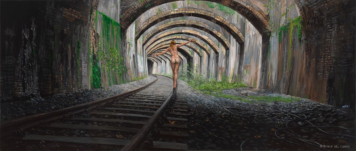 Художник Michele Del Campo: Жизненные картины маслом