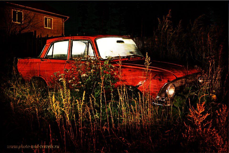 Скалы Петра Гронского. Как добраться на машине. Обработка Гранж.