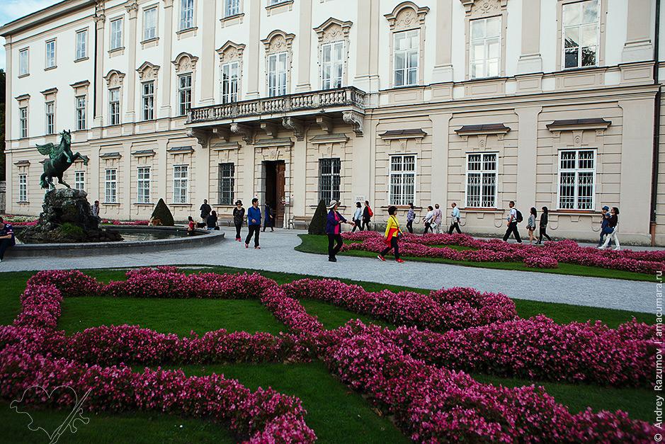 что посмотреть в Зальцбурге Дворец Мирабель