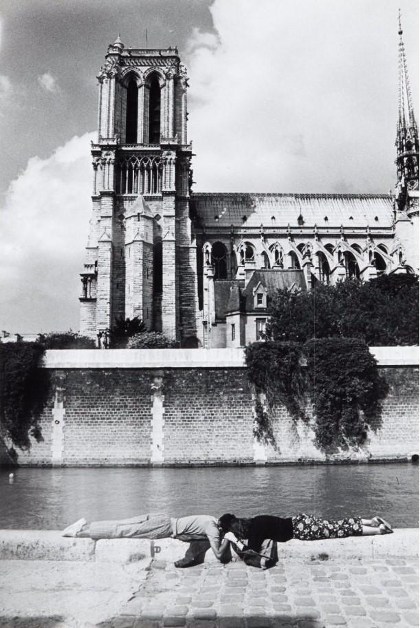 1953. «Le Vert Galant». Влюбленные на Сене