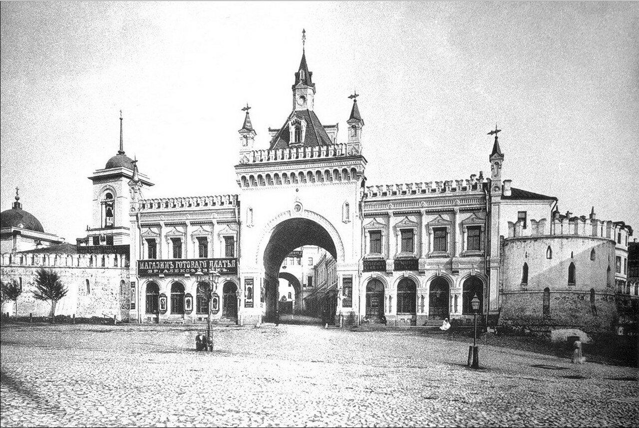 459. Третьяковский проезд с церковью Троицы в Полях