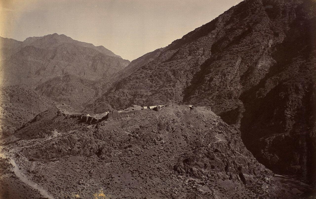 33. Передняя часть крепости Али Масджид