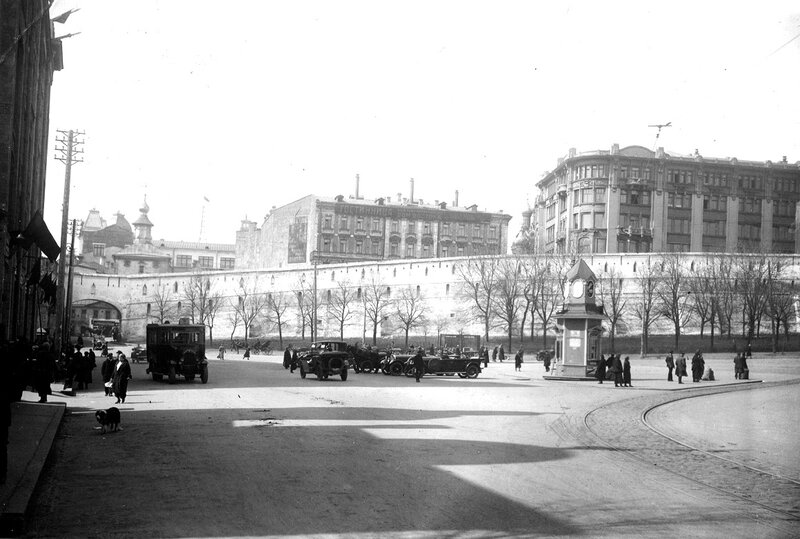 Китайгородская стена. Варварская пл. 1928 г.