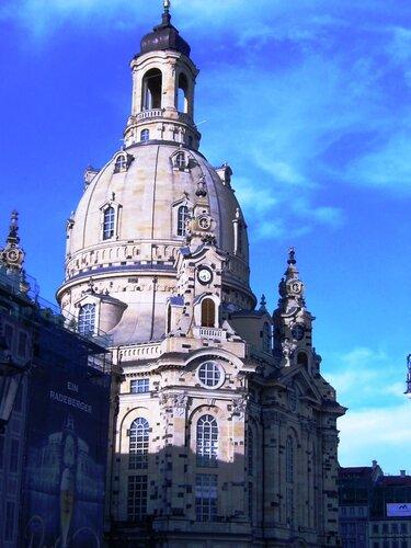 Дрезден. Фрауенкирхе