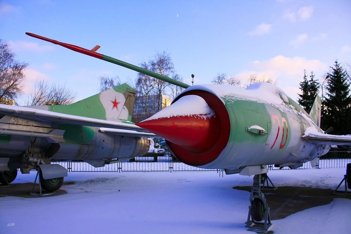 Музей Вооруженных Сил РФ (открытая площадка)