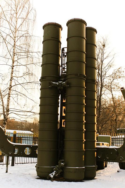 Пусковая установка зенитных ракет комплекса С-300ПТ