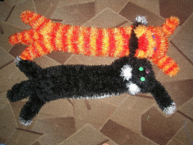 Шапку кошку своими руками