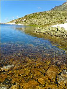 Правый берег озера