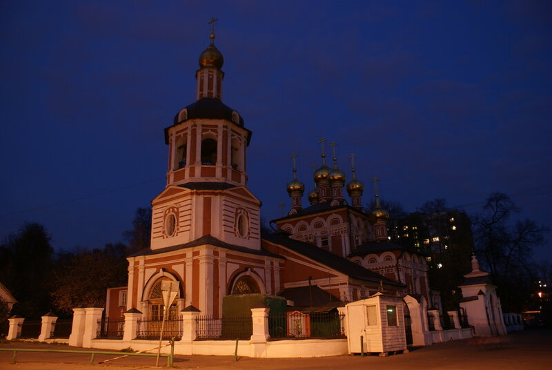 Храм Рождества Христова в Измайлово