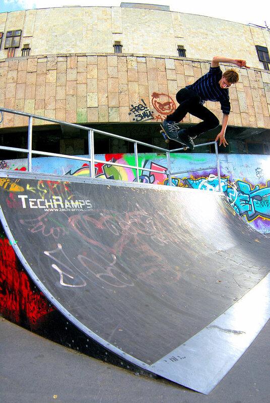 techramps, улица, фото