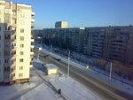 мороз и солнце(на улице-30,вид из окна)