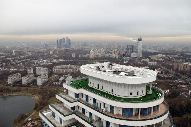 Крыша  москва 180