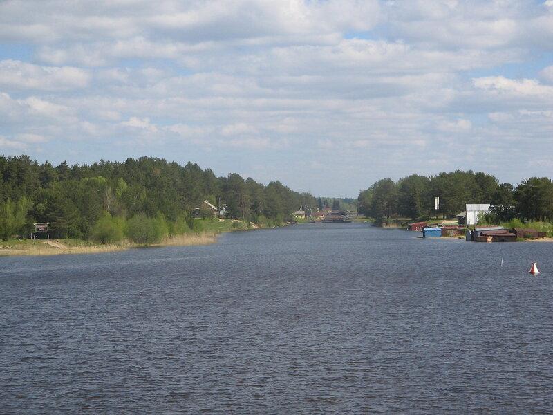 Река Шексна, конец мая