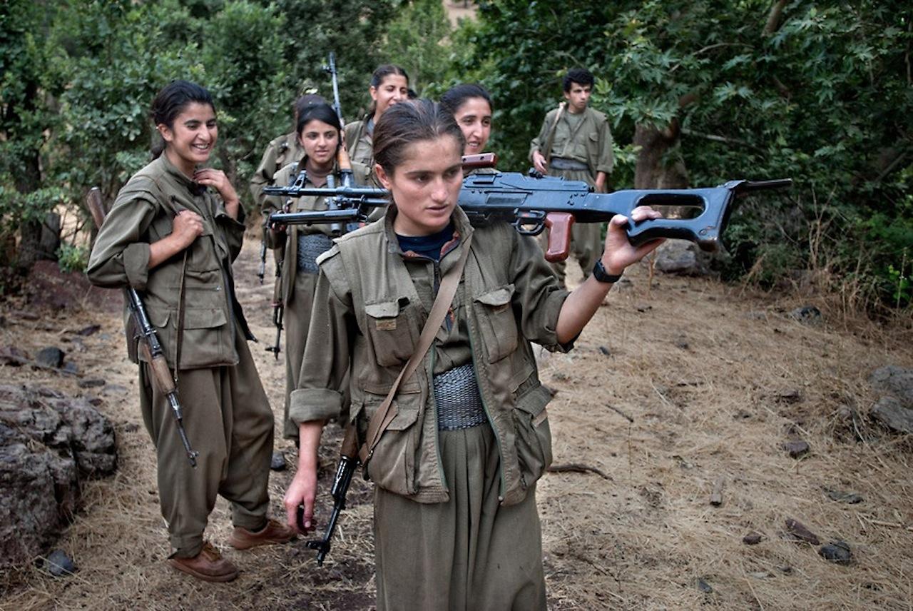 Les Amazones du PKK