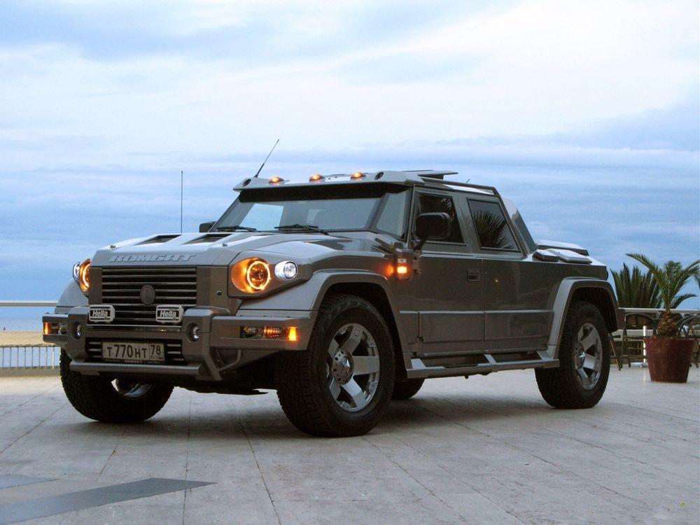 Очень дорогие российские автомобили