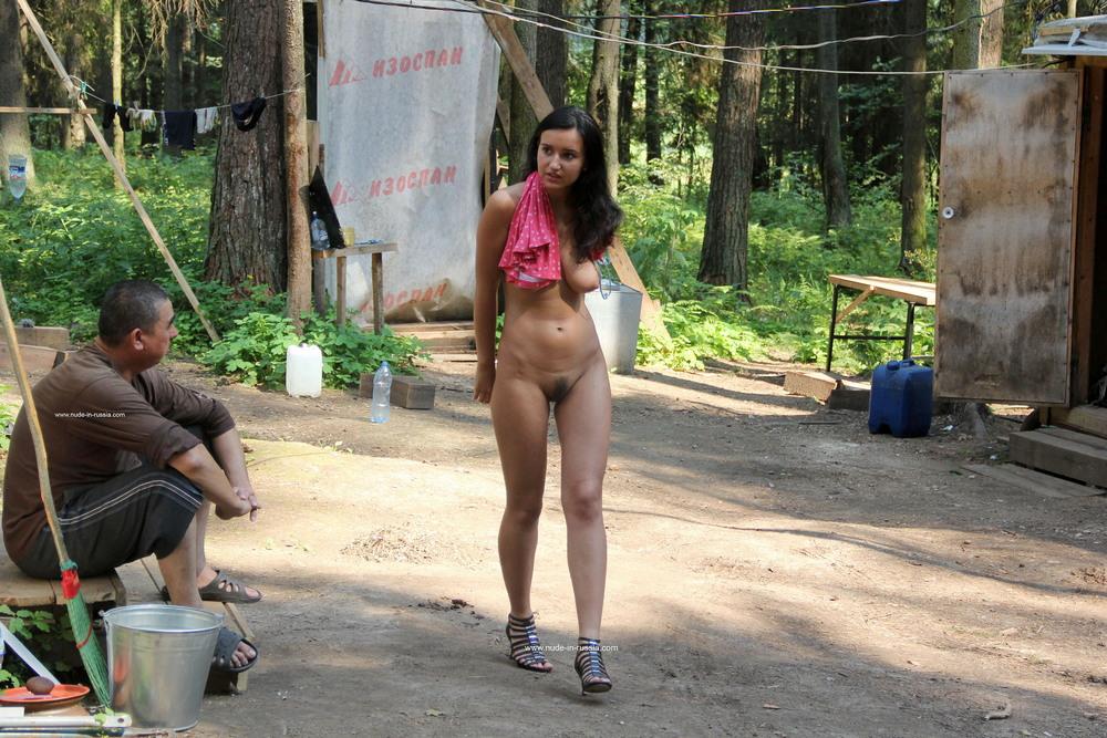 Маша возле Истры в Московской области