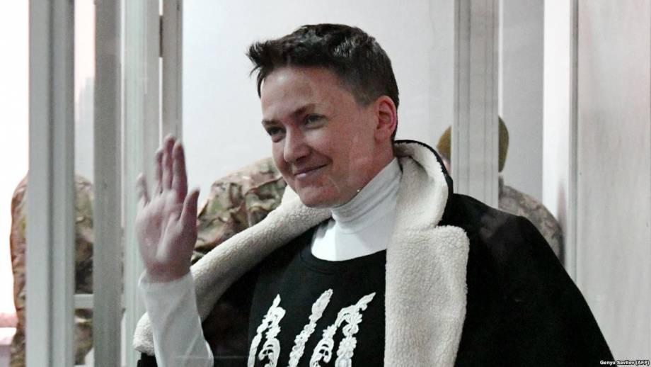 СБУ: Савченко отказалась от проверки ее показаний на полиграфе