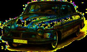 черные авто