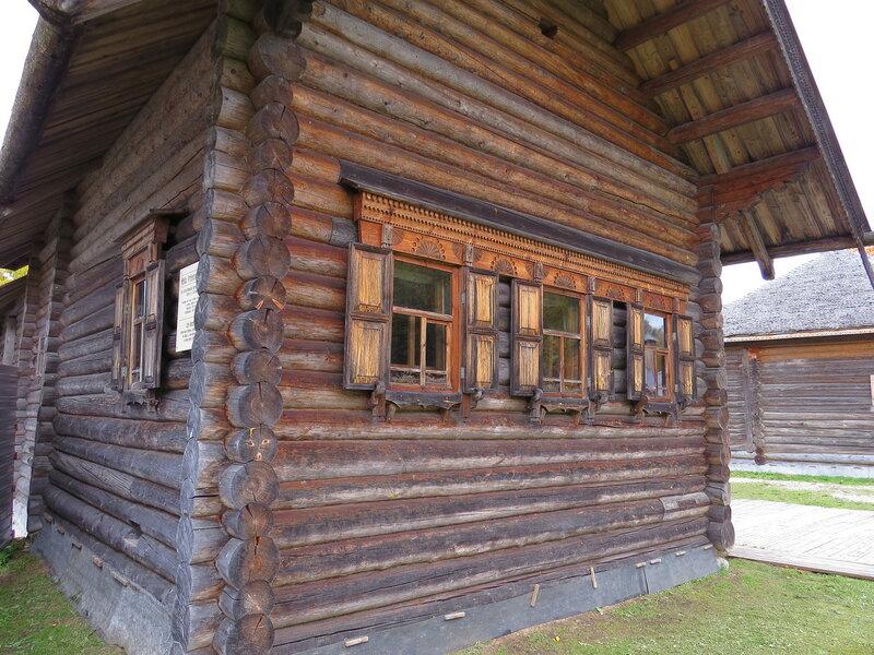 Крестьянская изба. Витославлицы в Великом Новгороде