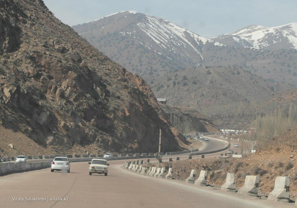 Вид на перевал Камчик