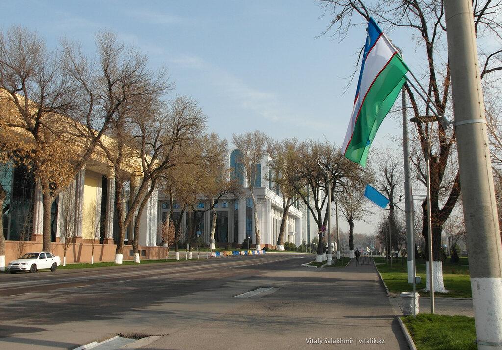 Ташкентская улица, Узбекистан