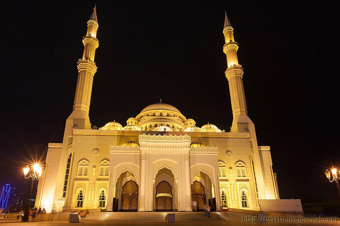 мечеть Аль Нур шарджа ОАЭ sharjah UAE