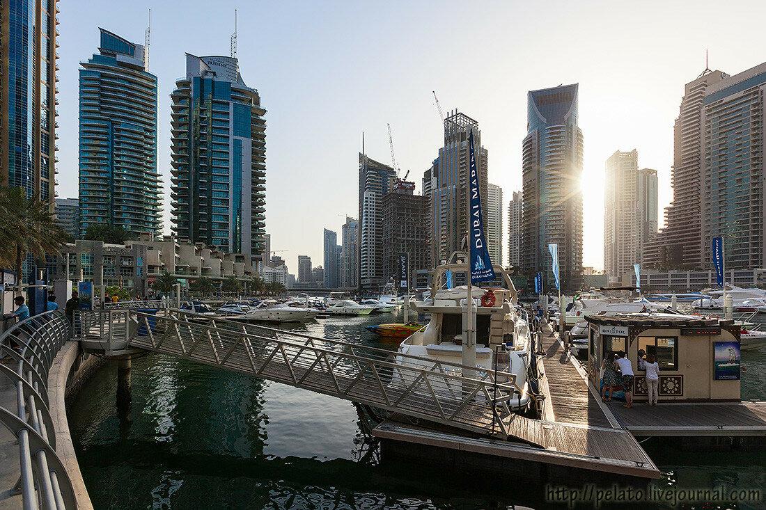 Yacht Club канал яхта залив Marina Марина Dubai Дубаи ОАЭ UAE