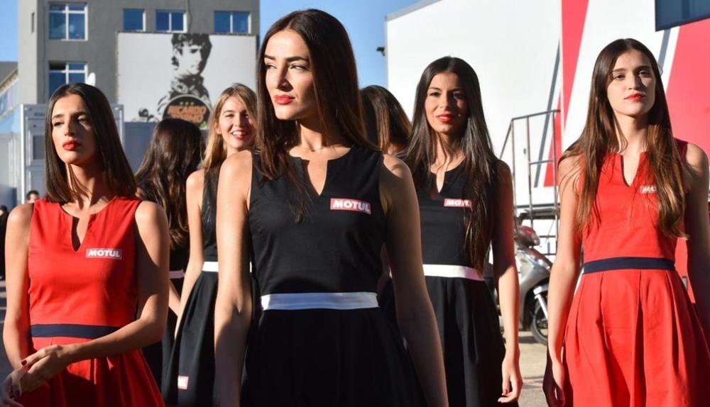 Девушки паддока Гран При Аргентины 2018