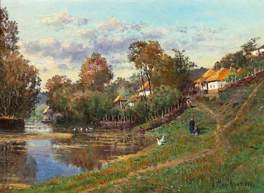 Little Russian Landscape.