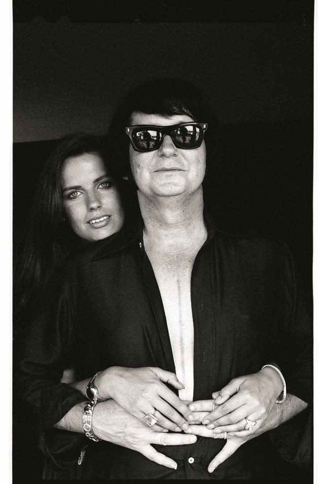 1978. Рой Орбисон со своей женой Барбарой