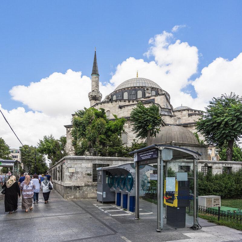 Атик Али Паша мечеть в Стамбуле