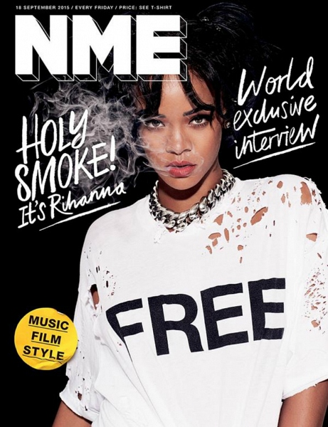 Рианна на обложке NME