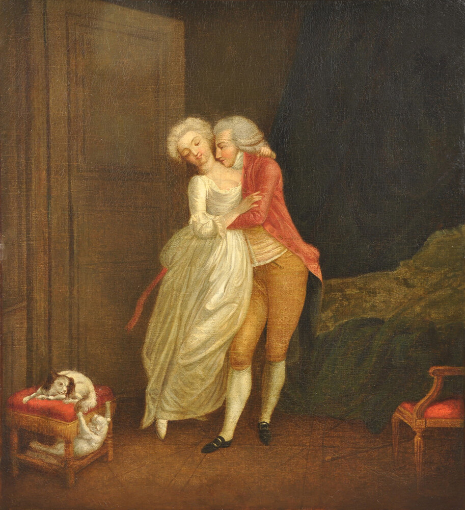 Louis Leopold Boilly L'Amant Constant