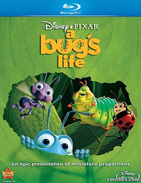 Приключения Флика / Жизнь жуков / A Bug's Life (1998/BDRip/HDRip)