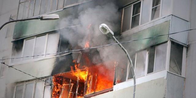 Пожар в саратове сейчас видео