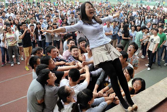 Как сдают экзамены китайцы