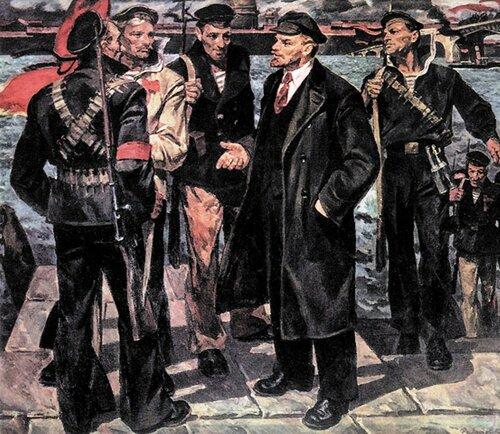 Ленин и революционные матросы..jpg