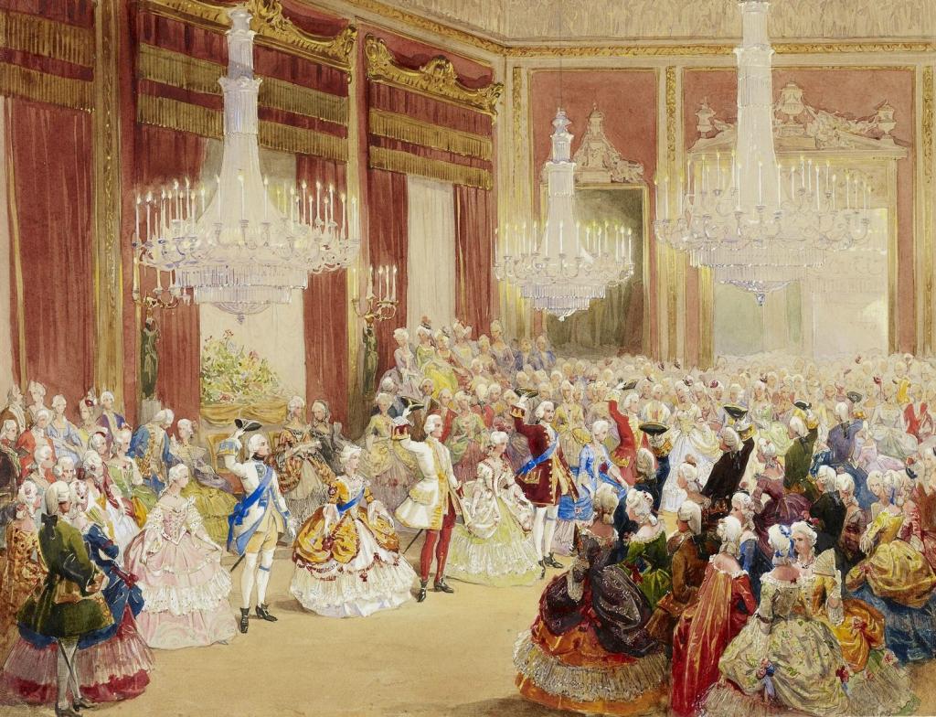 Необычный Бал в Букингемском дворце, 6 июня +1845