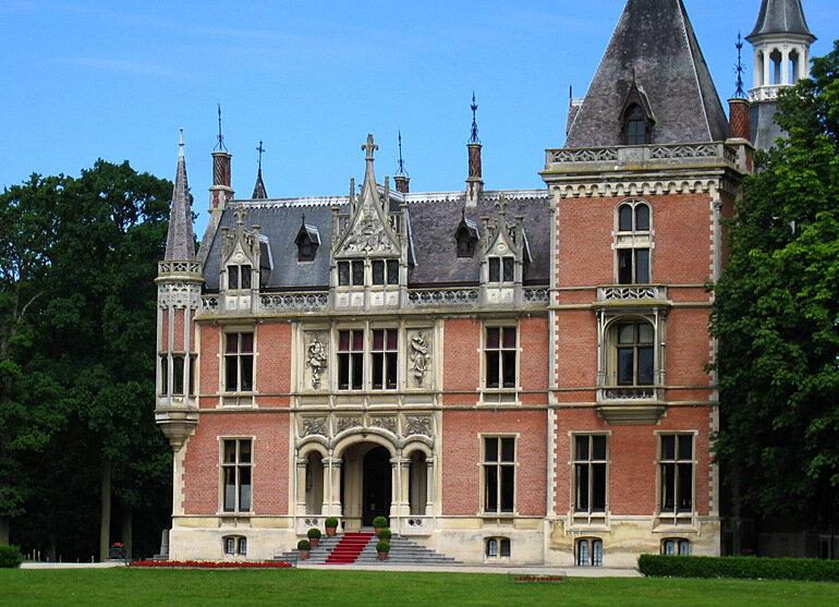 Бельгия-CastleAertrycke.jpg