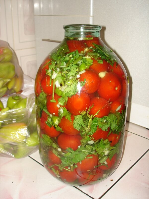 мои любимые помидорки...